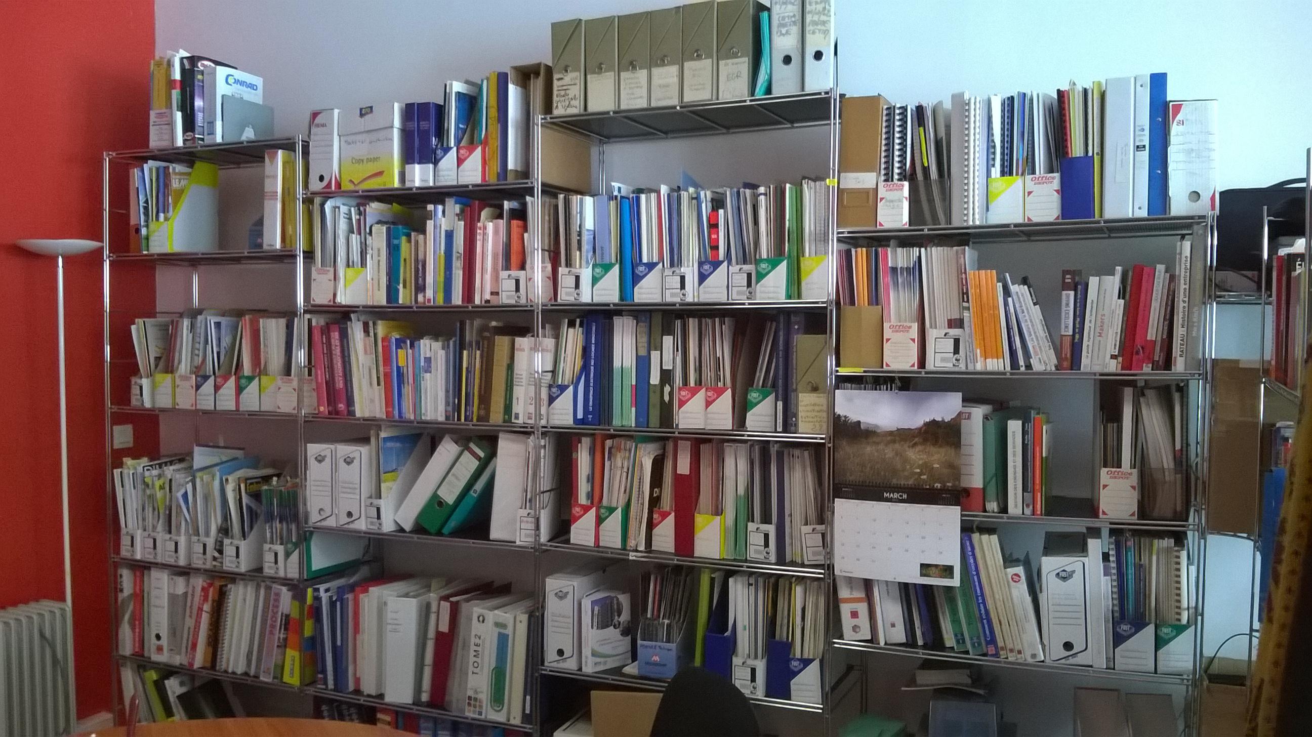 Notre coin bibliothèque